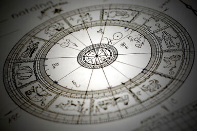 Astrology board as a pseudoscience example