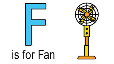f words for kids example of fan