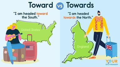 toward vs towards sentence examples