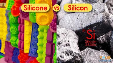 silicone vs silicon examples