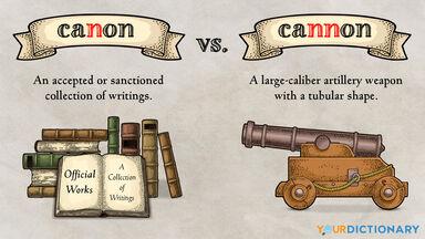 canon versus cannon