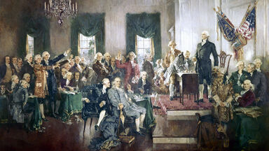 signing of the Constitution of the United States