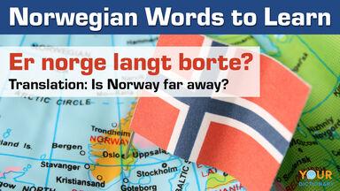 Norwegian words to learn
