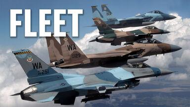 military term fleet