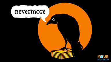 raven nevermore anthropomorphism