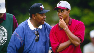 Earl and Tiger Woods U.S. Amateur Championship 1995