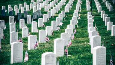 Memorial Day in Arlington National Cemetery