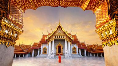 The Marble Temple, Bangkok, Thailand
