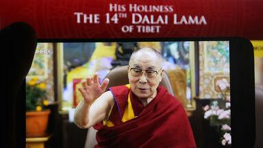 Tibetan spiritual leader the Dalai Lama, Oct. 2020
