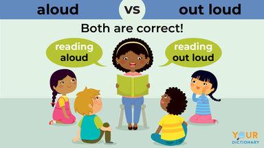 aloud versus out loud