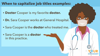 when to capitalize job titles examples