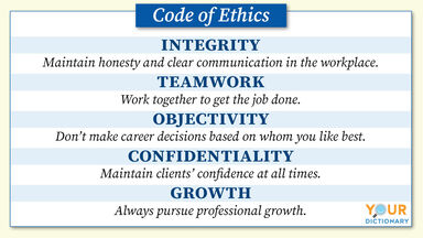 code of ethics example