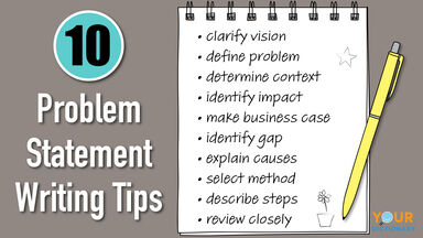 10 Tips on Writing a Problem Statement
