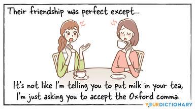 oxford comma joke comic