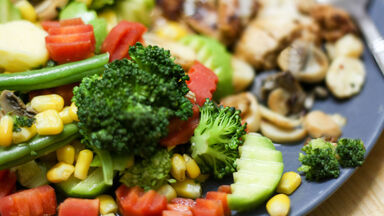 broccoli and complex carb vegetables