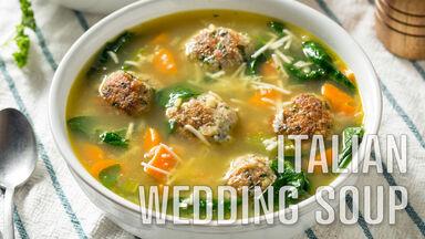 i word italian wedding soup
