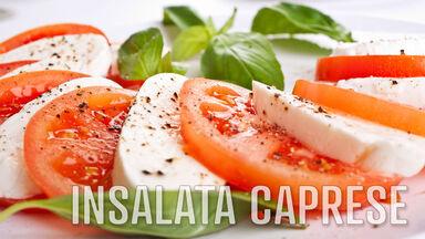 i food word insalata caprese