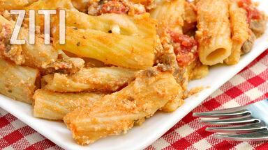 z food word ziti example