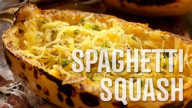 spaghetti squash s food word