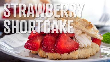 strawberry shortcake s food word