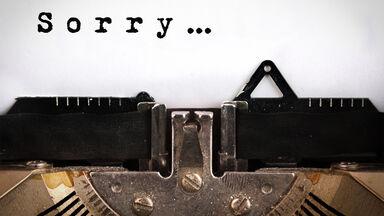 write apology letter