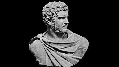 bust of Roman emperor Caracalla