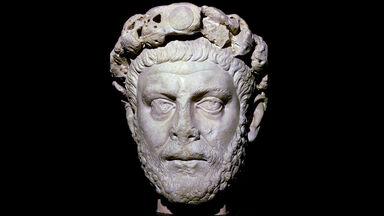 bust of Roman emperor Diocletian