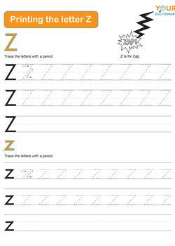 z trace letter