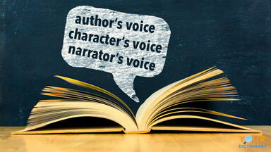 voice in writing with author's character's narrator's
