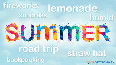 summer words to describe season