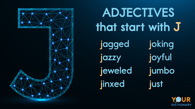 adjectives that start with J