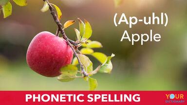 phonetic spelling example of ap-uhl
