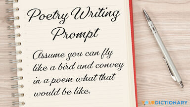 poetry writing prompt example