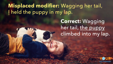 misplaced and dangling modifiers examples