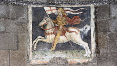 middle ages medieval fresco