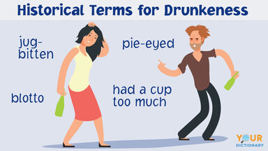 historical words for drunk