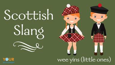 scottish slang wee yins little ones