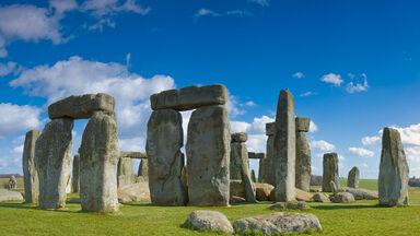 Prehistoric times Stonehenge monument in England