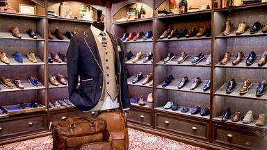 luxury clothing shop for men