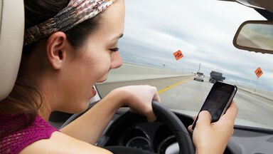 negligence texting while driving