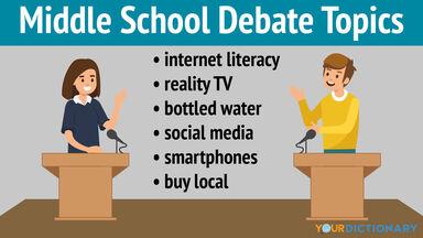 middle school debate topics
