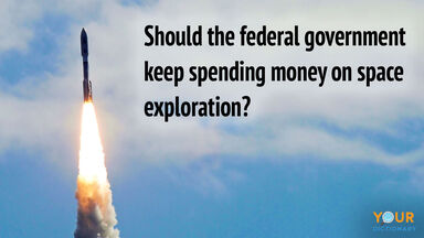 high school debate topic government spend money space exploration