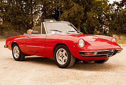 Red convertible as examples of xenocentrism