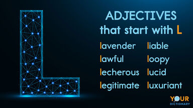 adjectives that start with L