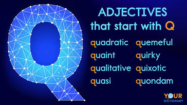 adjectives that start with letter q