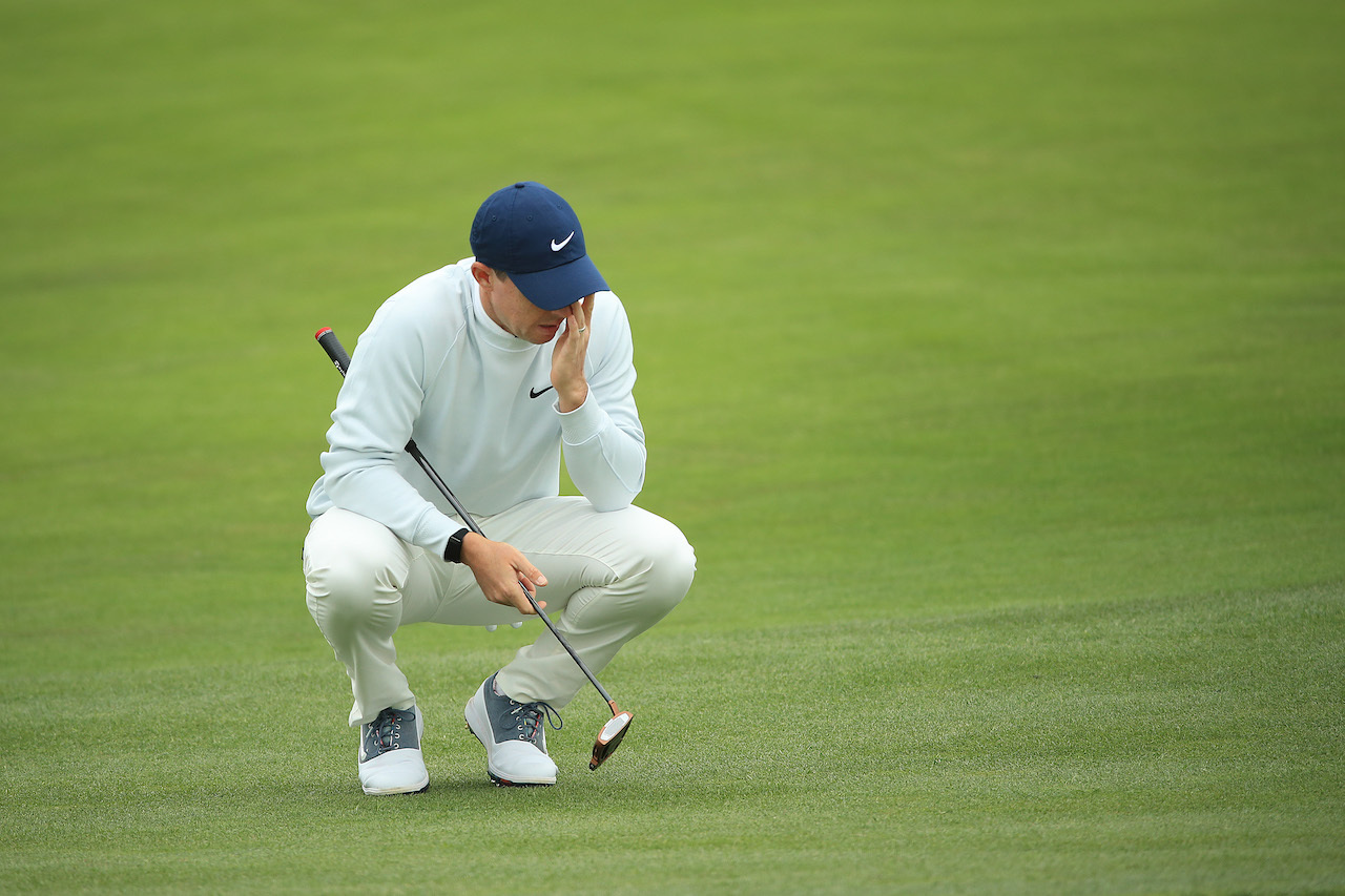 Rory McIlroy dejected at U.S. Open